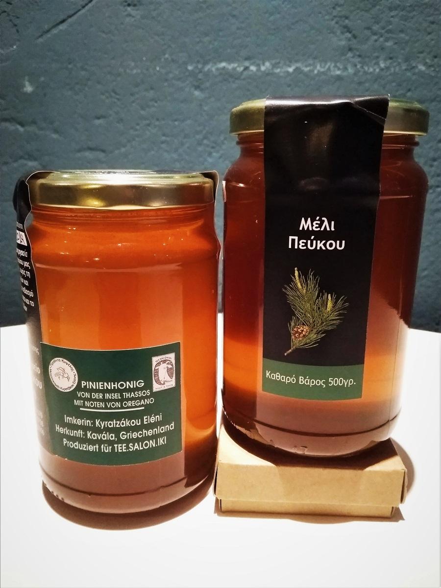 Pinien-Oregano-Honig