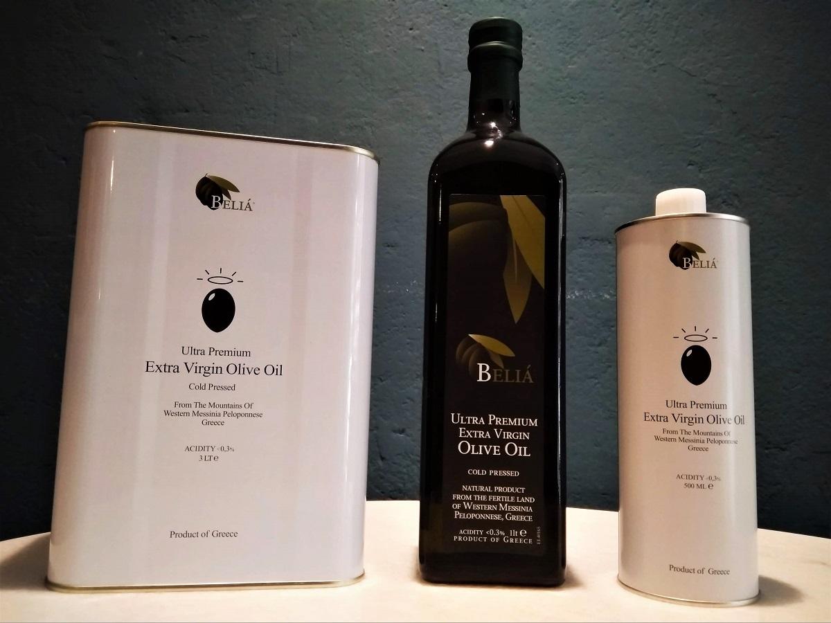 Olivenöl Beliá (Peloponnes)
