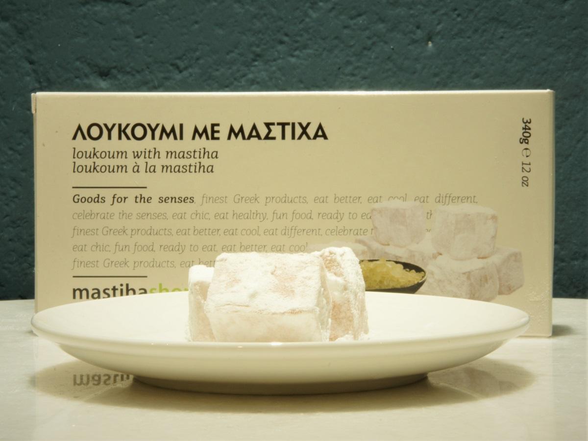 Loukoumi mit Chios-Mastix